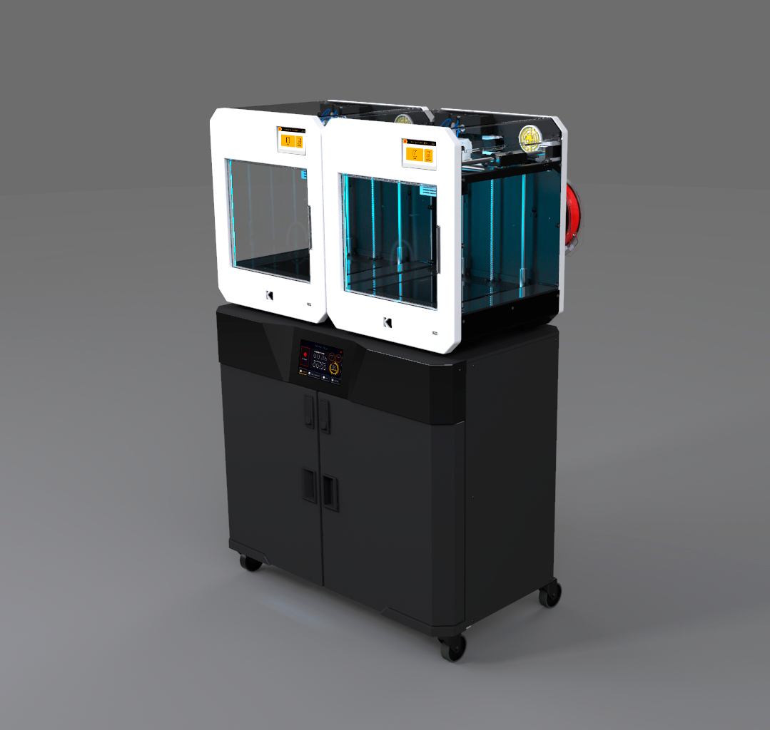 Smart3D Multimaterial Dryer